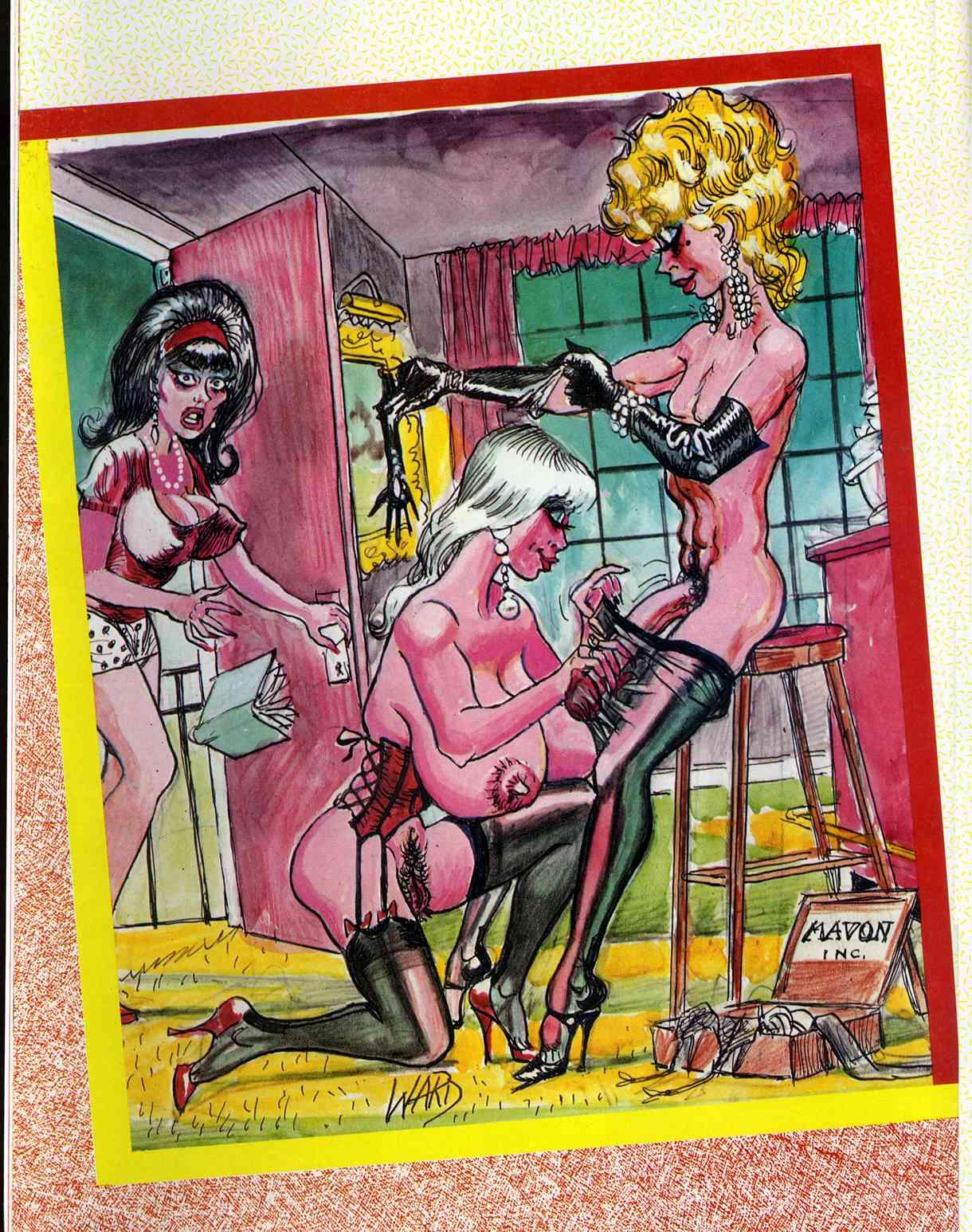 Bill Ward Comics
