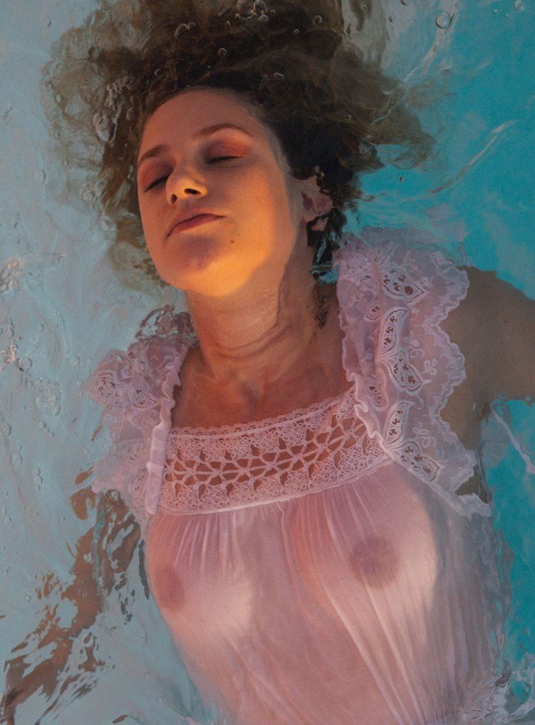 Lili Reinhart Nude & Boobs photoshoot for Cole Sprouse 2018 (See-Thru)